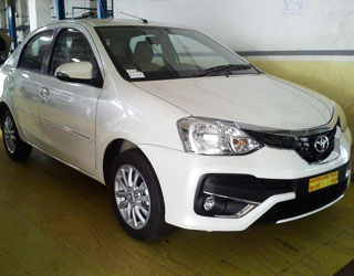 Etios Car on Rent